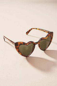 c6918f6ebfb18 Anthropologie Queen of Hearts Sunglasses Óculos Descolados, Óculos De Sol  Em Formato De Coração,