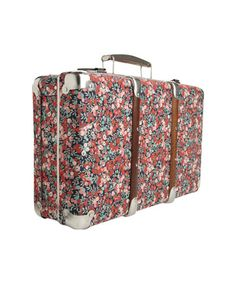 liberty floral suitcase