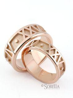 Roman Numeral Rings