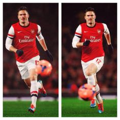Giroud in FA Cup Match vs Coventry 2013-2014.