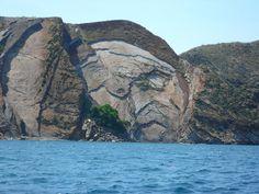 Roca CARA DE PIRATA EN MOCHIMA,Venezuela
