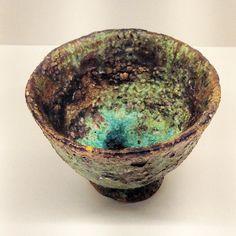 阪本健さん作のぐい呑見込の緑が鮮やかです阪本健陶展は12月11日まで #織部 #織部下北沢店 #陶器 #器 #ceramics #pottery #clay #craft #handmade #oribe #tableware #porcelain