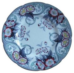 One Kings Lane - Not the Usual Suspects - 19th-C. English Morning Glory Wall Plate