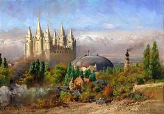 Rare old Mormon paintings surface at Salt Lake gallery