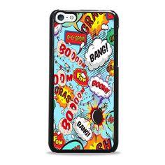 Comic Speech Bubbles iPhone 5c case