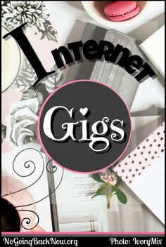 various ways to make some extra money with OR without a blog. #gigs