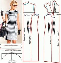 Amazing Sewing Patterns Clone Your Clothes Ideas. Enchanting Sewing Patterns Clone Your Clothes Ideas. Sewing Paterns, Easy Sewing Patterns, Clothing Patterns, Dress Patterns, Pattern Sewing, Pants Pattern, Sewing Blouses, Sewing Aprons, Costura Fashion