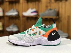 7f02de126e498 Nike Air Huarache E. D. G. E TXT QS Elastic White Green BQ5206 100 Mens  Womens Winter Running