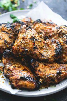 Grilled Jamaican Jerk Chicken