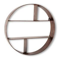 Threshold™ Metal Circle Shelf - Rubbed Bronze Finish