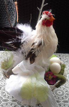Fresh eggs.  :)