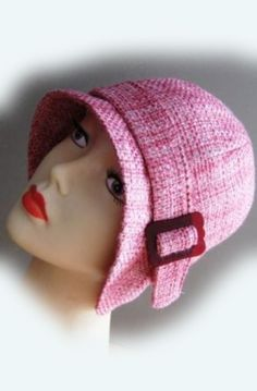 Free Cloche Hat Sewing Pattern | Cloche hat sewing pattern -medium - Roaring 20s flapper Cloche sewing ...