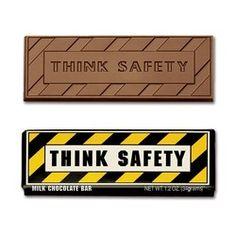 Think Safety 2x 5 Chocolate Bar