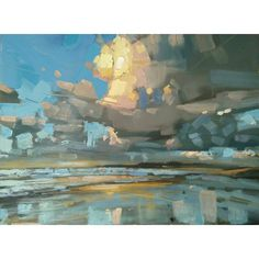 New Abstract Landscape Painting Oil Cloud Ideas Abstract Landscape Painting, Landscape Art, Landscape Paintings, Abstract Art, Art Abstrait, Art Plastique, Art Oil, Painting Inspiration, Canvas Art
