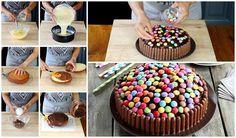 Para los cumpleaños de nuestros niños siempre queremos preparar lo más rico y bonito para que su fiesta sea muy especial.Descubre cómo preparar una tarta sencilla y preciosa para un cumpleaños.