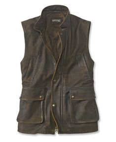 Looking for Orvis Men's Munitions Leather Vest ? Check out our picks for the Orvis Men's Munitions Leather Vest from the popular stores - all in one. Mens Leather Waistcoat, Leather Jacket, Motorcycle Leather Vest, Leather Coats, Leather Tooling, Men's Coats And Jackets, Mens Fashion, Fashion Suits, Vests