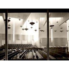 Olari Church and Congregation Centre   Olarin kirkko ja seurakuntakeskus    Olarinluoma 4, Espoo 1981, renovation/peruskorjaus 2011 3275 m2   Client: Espoo Parish Rakennuttaja: Espoon seurakunnat