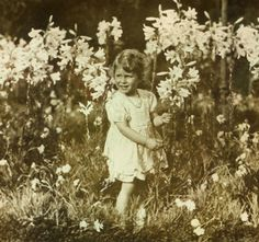 Princess Elizabeth photographed by her father the Duke of York