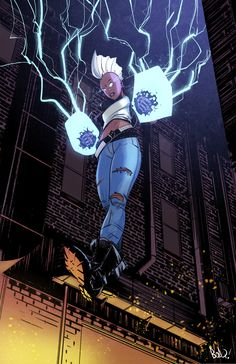 Hi there Marvel Comics!This is your pal, Bob. I'd like to propose a Storm series. I promise it'll be really good. Talk soon!Love,-Bob