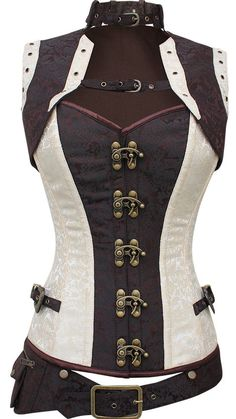 Large Selection of Steampunk Corsets from a variety of designer. Off the shelf Steampunk Corsets and bespoke made to order. Mail Order or visit our Portsmouth Steampunk Shop. Corset Steampunk, Mode Steampunk, Steampunk Cosplay, Steampunk Clothing, Steampunk Fashion, Gothic Fashion, Steampunk Outfits, Steampunk Necklace, Emo Fashion