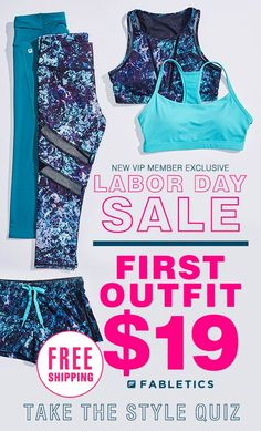 The Labor Day Sale is Here!! For a Limited Time, Take Our Quick 60 Second Style Quiz to Get Your First Outfit for $19!