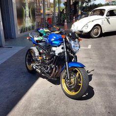 #Yamaha #Xj6 #600 by cortandogiro