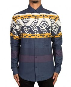 237aaee34fba 10 Deep - Badlands Jaquard Button-Up -  98