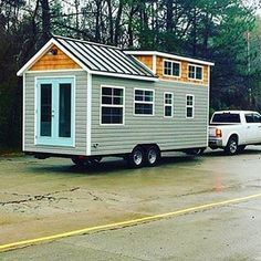 Sprout Tiny Home by @mustardseedtinyhomes #tinyhouse #architecture #home #micro #nature #tinyhomes #architect #house #modern #green #tinyhousemovement #cool #future #tiny #design #minimalist #greentinyhouse