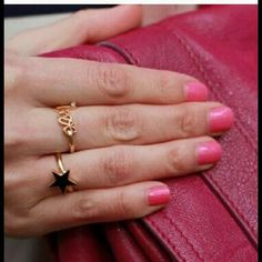 ❤️LOVE RING❤️ T+J Designs Love Ring Quantity: 1  Material content: base metals, Nickel Free, Lead Free  -(Listing is for one ring)- T&J Designs Jewelry Rings