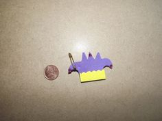 A jester's hat. Craft foam and rhinestones