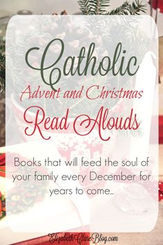 A book list of of read alouds for a Christ-centered Advent and Christmas books the whole family will enjoy. Advent Catholic, Catholic Books, Catholic Kids, Catholic Prayers, Catholic Holidays, Catholic School, Advent Activities, Christmas Activities, Christmas Traditions