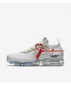 03cf7594f284c Nike Air Vapormax Flyknit White Trainers