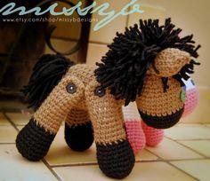 Stuffed Horse and Unicorn Toy Pattern via Craftsy