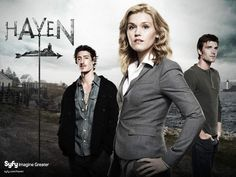 Haven - the show I wouldn't watch at first but my husband got me sucked into.