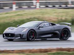 Jaguar Teases C-X17 Concept.