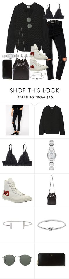 """""""Sin título #2120"""" by alx97 ❤ liked on Polyvore featuring ASOS, Acne Studios, Monki, Burberry, Comme des Garçons, Mansur Gavriel, Humble Chic, Michael Kors, Ray-Ban and Yves Saint Laurent"""