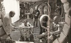 Kenny Baker (R2-D2) and Anthony Daniels (C-3PO) On Set of Empire Strikes Back.