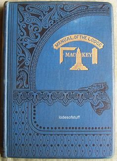 Antique Masonic 1870 Manual of the Lodge Mason by lodesofstuff, $50.00