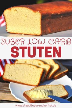 Low Carb Stuten This sweet low carb mares without flour is a great substitute for white bread! If you eat low carb or gluten free, … Keto Foods, Ketogenic Recipes, Keto Meal, Keto Snacks, Low Carb Desserts, Low Carb Recipes, Baking Recipes, Ninja Recipes, Keto Smoothie Recipes