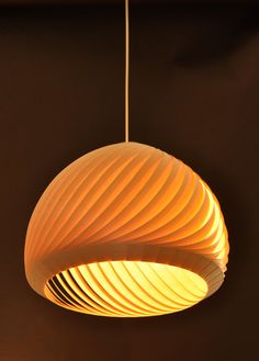 Wind Lampshade Veneer 38 by Vayehi