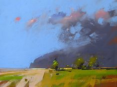 Looking North, NZ by Tony Allain Pastel ~ 24 x 36