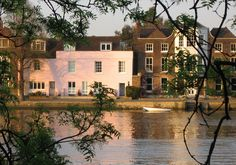 Strand on the Green, Chiswick, London - lovely place (good pubs and a pretty walk along the Thames)