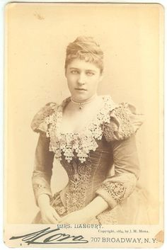 Mrs Lillie Langtry