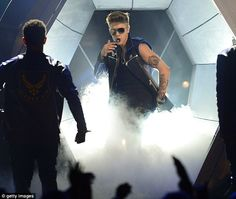 "Justine Bieber 2013 Billboard Music Awards performed twice ""Take You"" and ""That Power"""