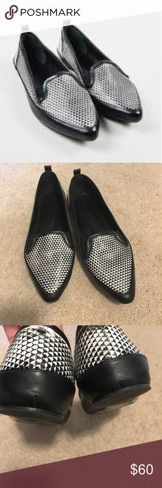 Proenza Schouler Pointed Flats Good Condition! Some wear at toe and sole Proenza Schouler Shoes