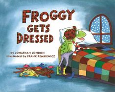 Froggy Gets Dressed: Our theme was Winter Clothes