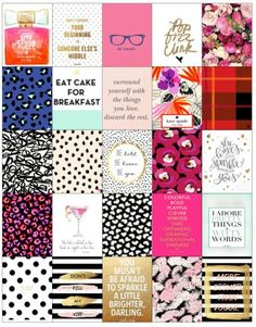 Kate Spade Planner Stickers by ShopStinasProjects on Etsy