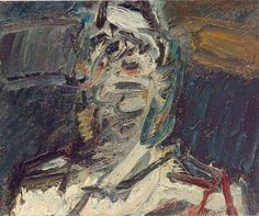 "Frank Auerbach, ""Head of Jim"""