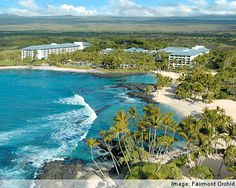 "The Fairmont Orchid: Big Island, Hawaii    We have clients here right now having ""The vacation of a lifetime!"""
