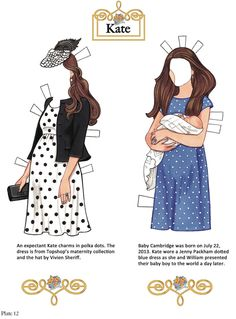 Welcome to Dover Publications Kate: The Duchess of Cambridge Paper Dolls pg. 3